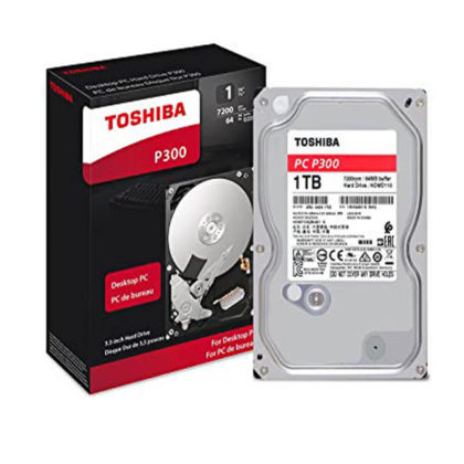 TOSHIBA 1TB INTERNAL HARD DRIVE 3.5″ SATA 7200RPM